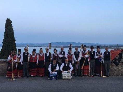 Festival Nazionale del Folklore a Castiglione del lago - Marche- 2017