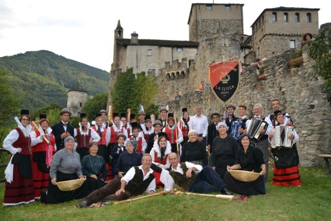 Goûter au château - Castello Sarriod de la Tour - Saint-Pierre (AO)
