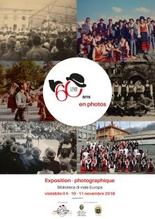 Manifesto Mostra fotografica - 60 ans en photos - La Clicca